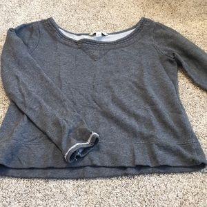 Banana Republic cropped sweatshirt